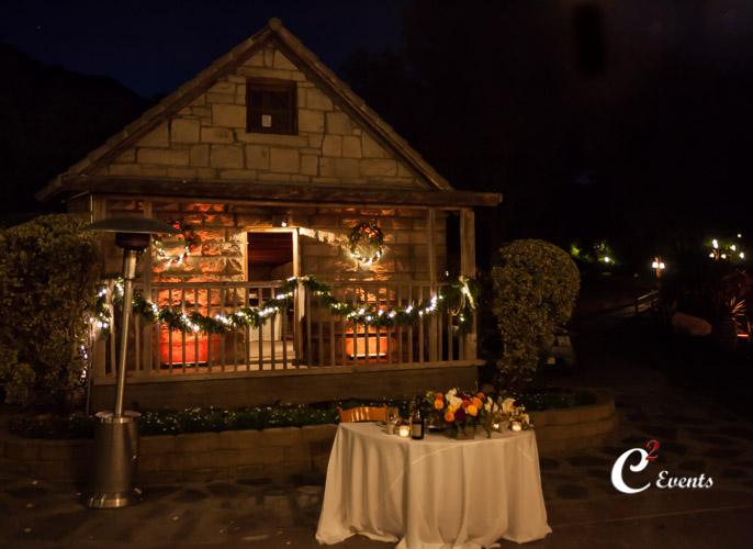 stone house with decor lighting & Brittany and Mike u2013 Temcula Creek Inn u201cStone Houseu201d | Temecula DJ ... azcodes.com